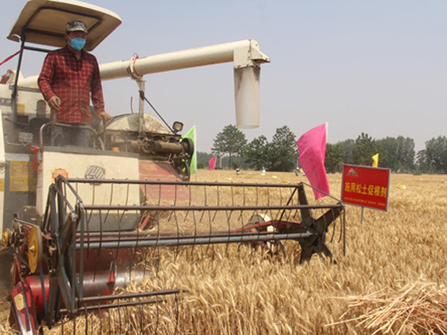 <b>专注土壤修护,把丰收献给农民</b>